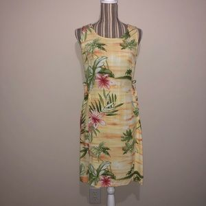 Tommy Bahama Hawaiian Print Sleeveless Dress